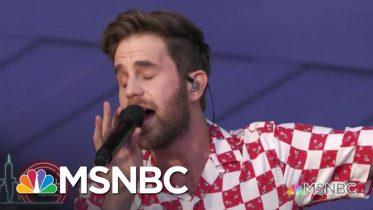Ben Platt Sings 'Rain' | MSNBC 5