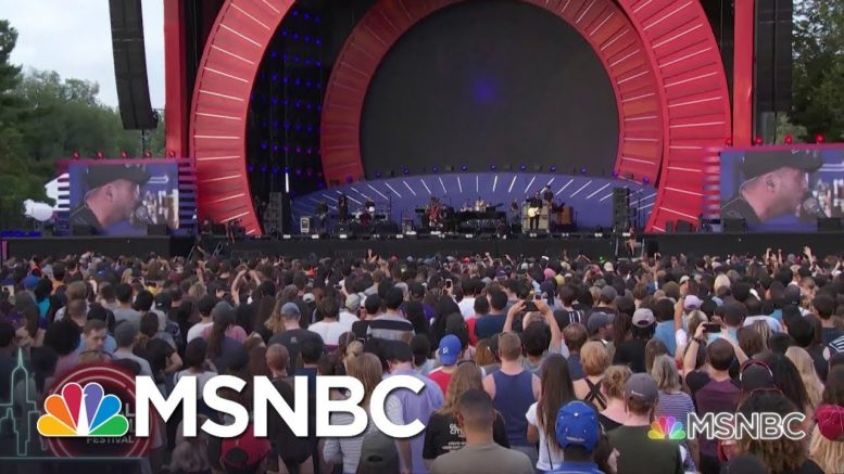 One Republic Performs 'Secrets' At Global Citizen Festival | MSNBC 1