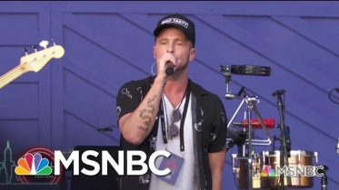One Republic Performs 'I Lived' | MSNBC 6
