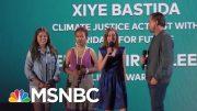 Leonardo DiCaprio Introduces Three Young Climate Activists | NBC News 5