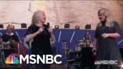 Carole King And Kelly Clarkson Sing 'Where You Lead' | MSNBC 4