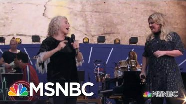Carole King And Kelly Clarkson Sing 'Where You Lead'   MSNBC 6
