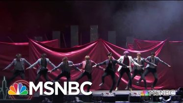 NCT 127 Performs 'Superhuman' | MSNBC 6