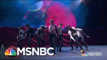 NCT 127 Performs 'Highway to Heaven' | MSNBC 2