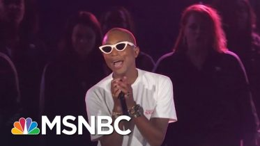 Pharrell Performs 'Letter To My Godfather' | MSNBC 6