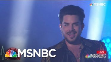 Queen + Adam Lambert Perform 'Bohemian Rhapsody' | MSNBC 6