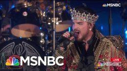 Queen + Adam Lambert Perform 'We Are The Champions' | MSNBC 6