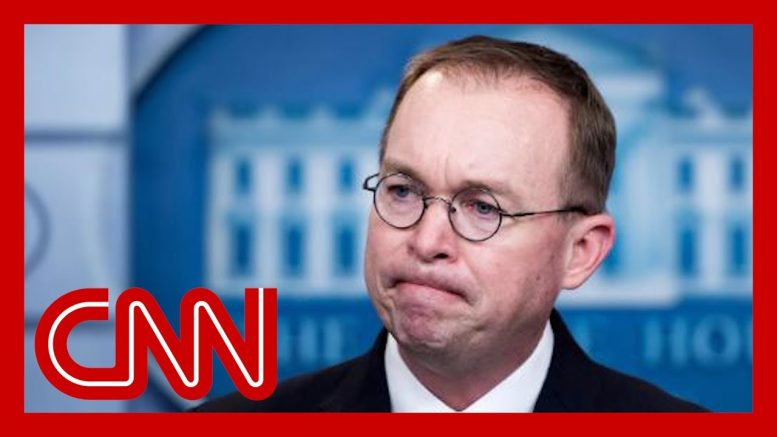Sources: Mick Mulvaney on shaky ground in wake of whistleblower fallout 1