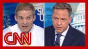 Jake Tapper fact-checks Rep. Jim Jordan on Ukraine scandal 3
