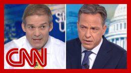 Jake Tapper fact-checks Rep. Jim Jordan on Ukraine scandal 5