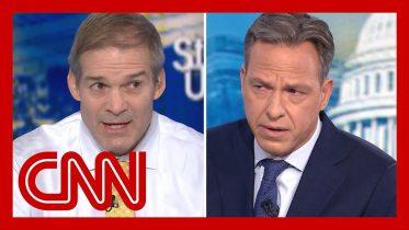 Jake Tapper fact-checks Rep. Jim Jordan on Ukraine scandal 6