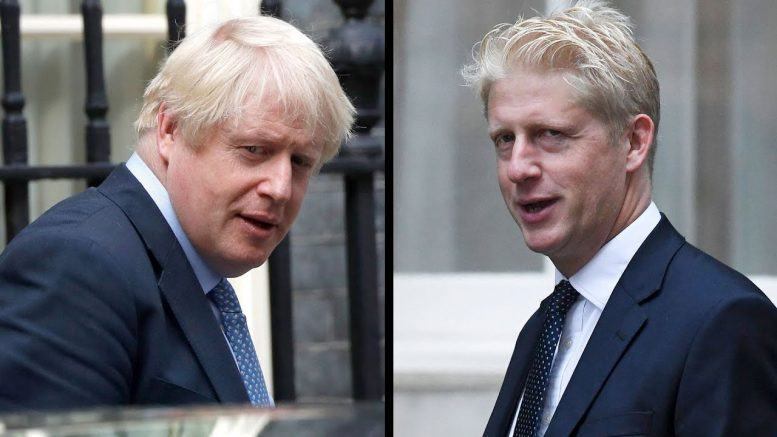 Boris Johnson's brother quits as MP and minister over Brexit 1