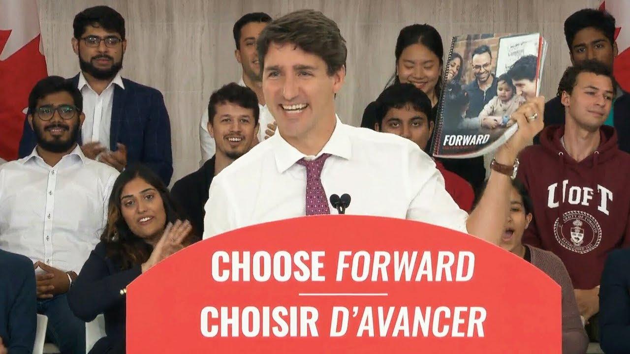 Justin Trudeau presents Liberal Party's full platform 7