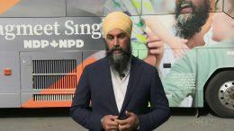 NDP Jagmeet Singh responds to Trudeau's Liberal platform 3