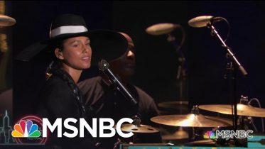 Alicia Keys Performs 'Show Me Love' | MSNBC 6