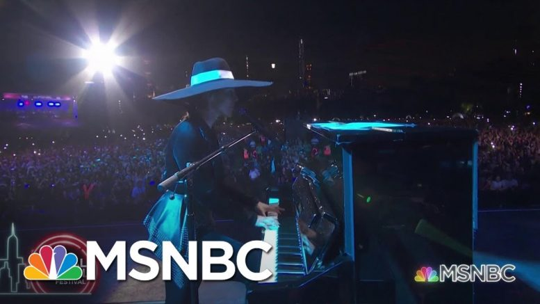 Alicia Keys Performs 'Empire State Of Mind' | MSNBC 1