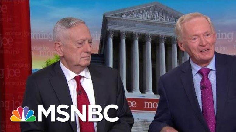 Jim Mattis, Bing West Discuss The Lessons In 'Call Sign Chaos' | Morning Joe | MSNBC 1