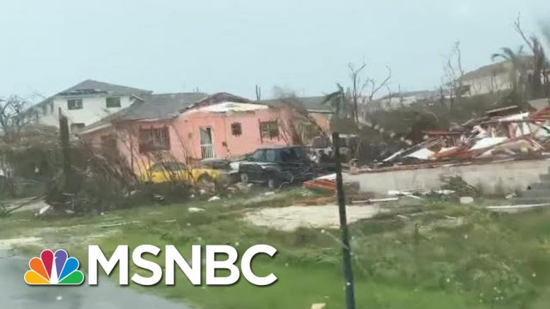 'There A Lot Of People Dying On The Spot': Hurricane Dorian Survival Story | Velshi & Ruhle | MSNBC 1