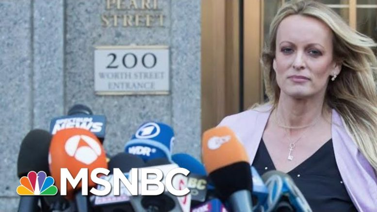 Stormy Daniels Could Be Key To Unlock Trump Impeachment Probe   The Beat With Ari Melber   MSNBC 1