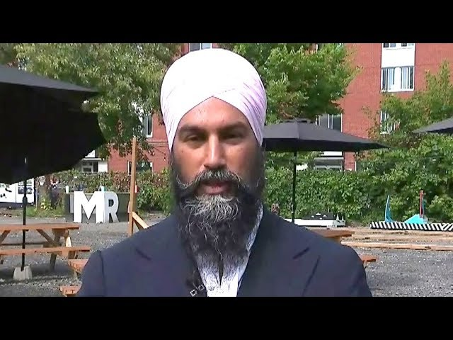 Jagmeet Singh: Green Party put out 'misinformation' about N.B. defections 1