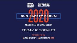 Watch Live: Gun Safety Forum 2020 In Las Vegas | MSNBC 7