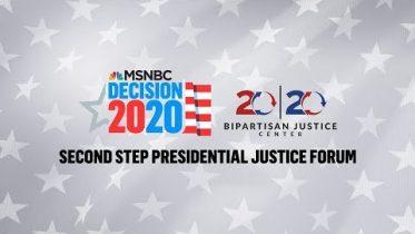 Watch Live: 2020 Democrats Speak At Justice Forum (Day 2) | MSNBC 6