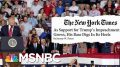 The One Group Not Leaving The President's Side Anytime Soon | Velshi & Ruhle | MSNBC 4