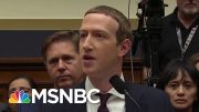 Mark Zuckerberg Testifies On Facebook Cryptocurrency | Velshi & Ruhle | MSNBC 4