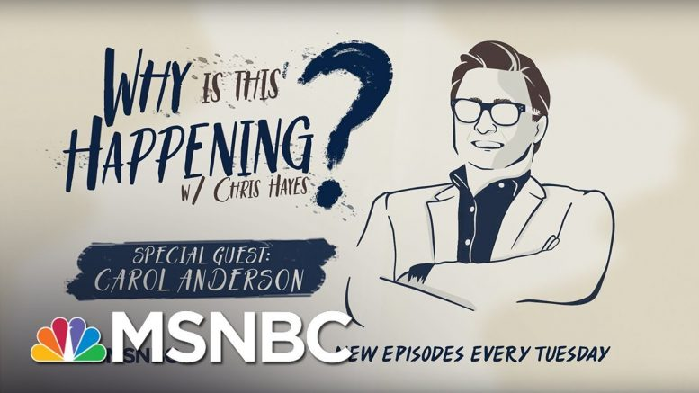 Voter Suppression Past And Present with Carol Anderson | Why Is This Happening? - Ep 25 | MSNBC 1