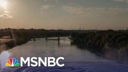 "Senator Kamala Harris Reacts To ""Outrageous"" Trump Idea For Migrants | The Last Word | MSNBC 4"