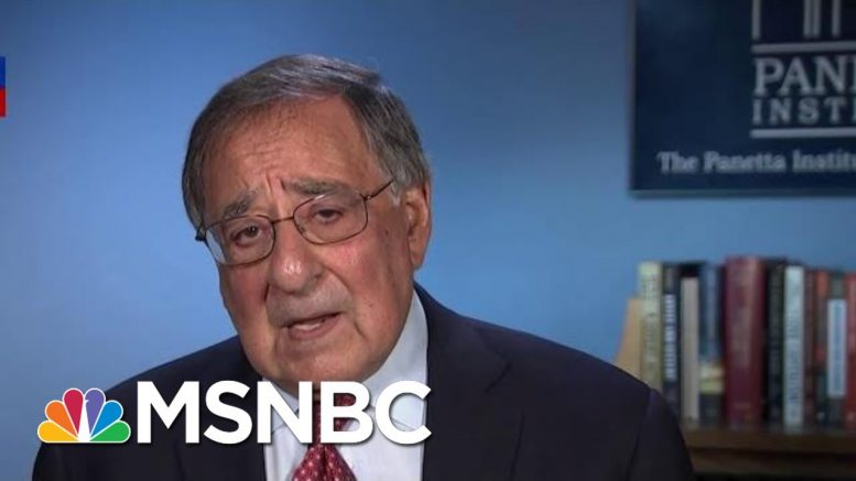 Panetta Calls Trump's Syria Pullout The 'Most Disastrous Foreign Policy Blunder' | Hardball | MSNBC 1