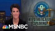 Trump Lawyers Keep Musing About A Mike Pence Indictment | Rachel Maddow | MSNBC 4