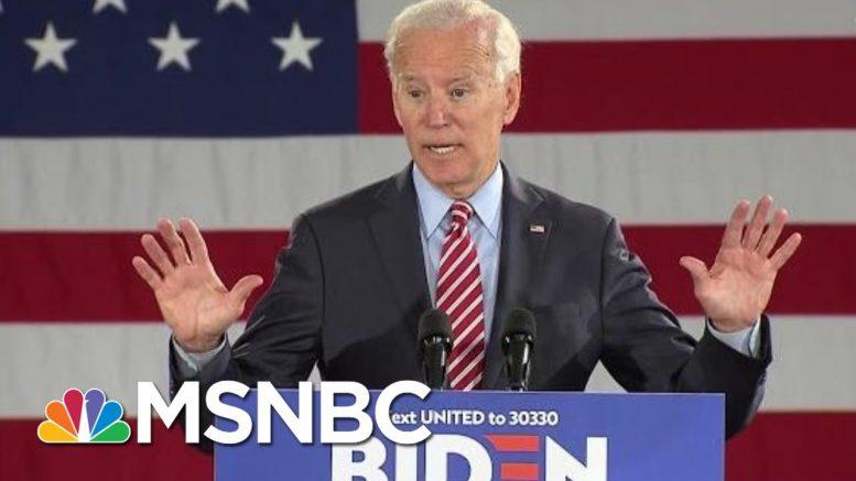 Joe Biden: We Don't Deserve A President Who Is Making Life 'Harder, Crueler, Pettier' | MSNBC 1