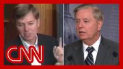Lindsey Graham called out on impeachment contradictions 4