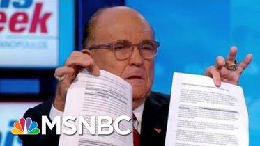 Trump Recycling Old Ukraine Script In Smear Against Joe Biden   Rachel Maddow   MSNBC 10