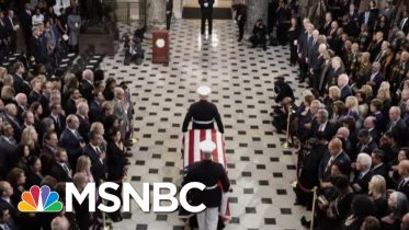 WATCH: Hundreds Gather In Capitol To Remember Rep. Elijah Cummings' (D-Md.) | MTP Daily | MSNBC 6