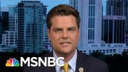 Hallie Jackson To Gaetz: 'Why Do You Think The Rules Do Not Apply To You?' | Hallie Jackson | MSNBC 2