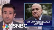 'Bizarre Web': Trump Attorney Giuliani Hunts For Personal Attorney | MSNBC 5
