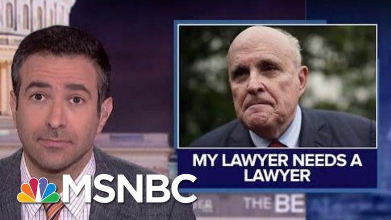 'Bizarre Web': Trump Attorney Giuliani Hunts For Personal Attorney | MSNBC 1