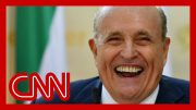 Giuliani accidentally called reporter. Hear what he said. 3