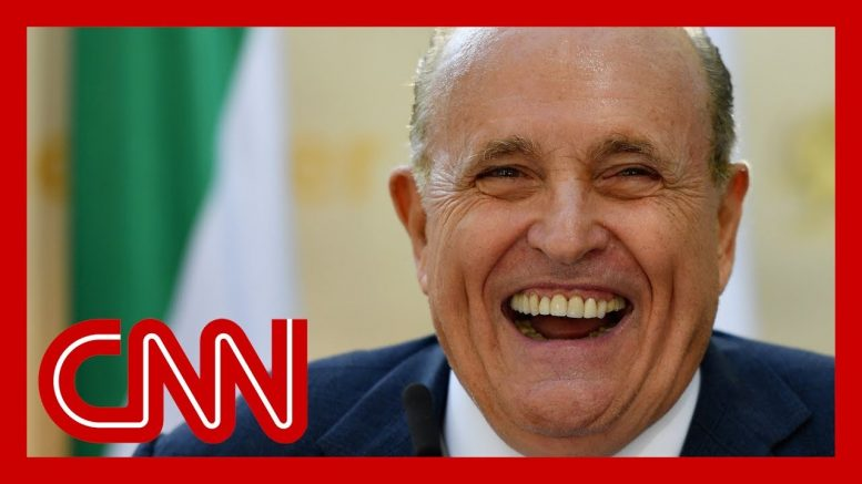 Giuliani accidentally called reporter. Hear what he said. 1