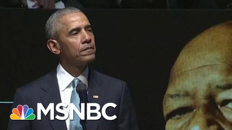 Obama Pays Tribute To Cummings: 'Being A Strong Man Includes Being Kind' | Andrea Mitchell | MSNBC 1