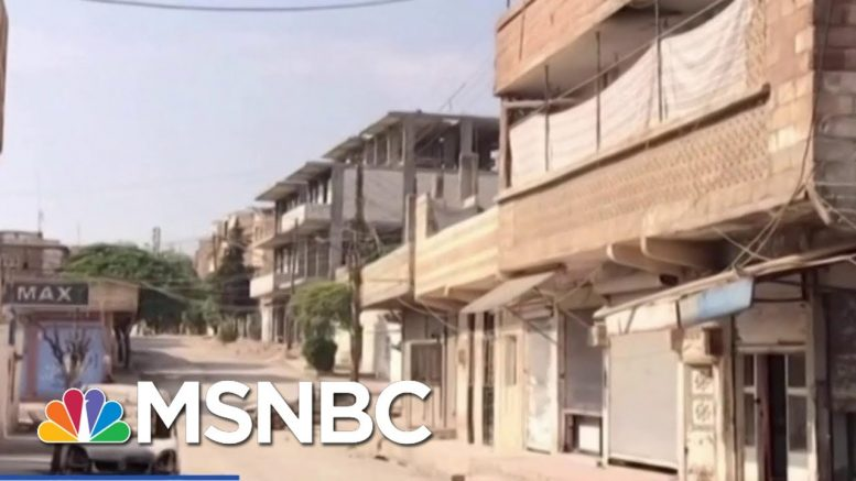 U.S. Forces Preparing To Protect Syrian Oil Fields | Velshi & Ruhle | MSNBC 1