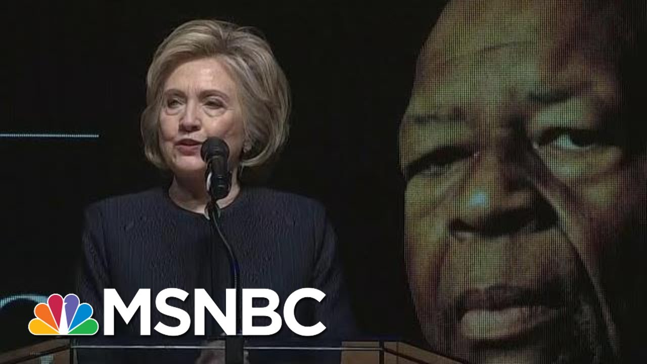 Hillary Clinton: 'Elijah Stood Against Corrupt Leadership' | Hallie Jackson | MSNBC 1