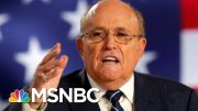 NBC News Reporter Recounts Moment He Realized Ruby Giuliani Butt-Dialed Him | Velshi & Ruhle | MSNBC 3