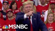 Unpaid Bills Pile Up In The Wake Of President Donald Trump Rallies | All In | MSNBC 2