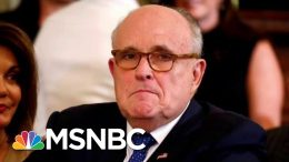 Rudy Giuliani Talks About Needing Cash In Butt-Dial To NBC News Reporter | The Last Word | MSNBC 5