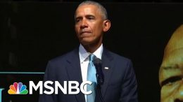 President Obama: 'Nothing Weak About Being Honorable' | The Last Word | MSNBC 5