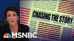 NBCUniversal Offers NDA Releases Over Harassment Claim Concerns | Rachel Maddow | MSNBC 8