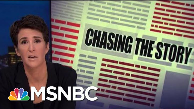 NBCUniversal Offers NDA Releases Over Harassment Claim Concerns | Rachel Maddow | MSNBC 1